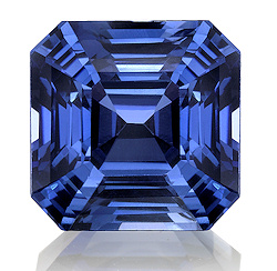 of blue with ring cut untreated platinum royal sapphire gia asscher custom jewelry option ct